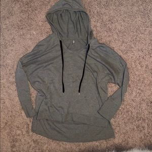 Grey pull over